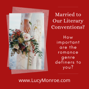 Are we married to certain literary conventions when we define genre romance?